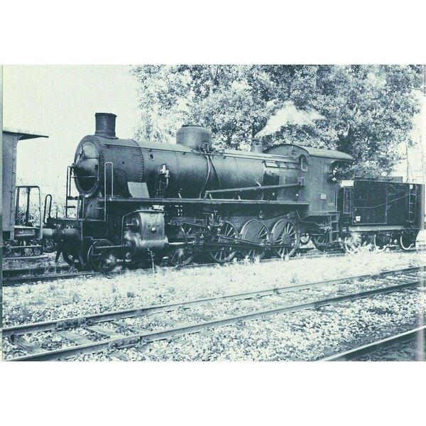Steam Locomotive gr. 740 306 con tierna 3 ejes de sonido digital de FS