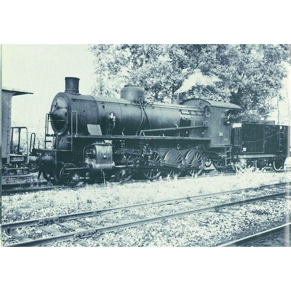Steam Locomotive gr. 740 306 with tender 3 axles FS digital sound
