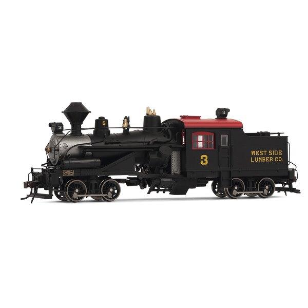 Locomotora de vapor Heisler, 2-camiones, westside empresa maderera sonido digital no.3
