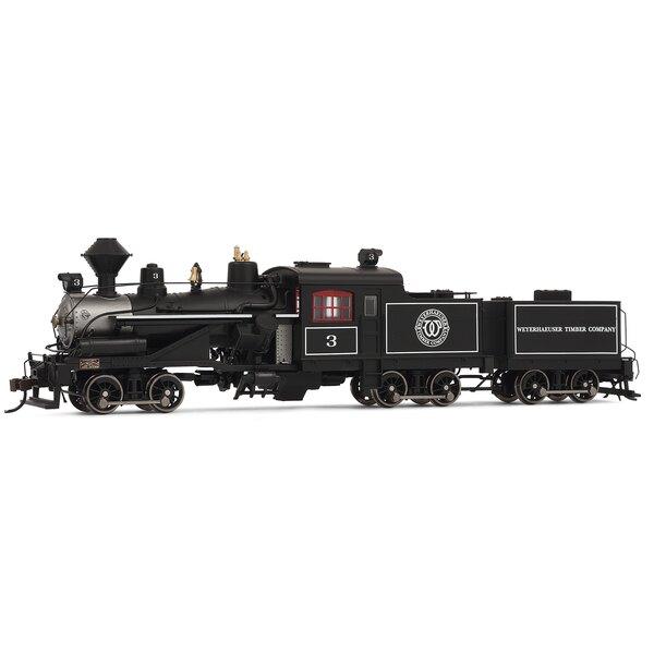 Locomotora de vapor Heisler, 3-camiones, Weyerhaeuser empresa maderera no.3 s digitales