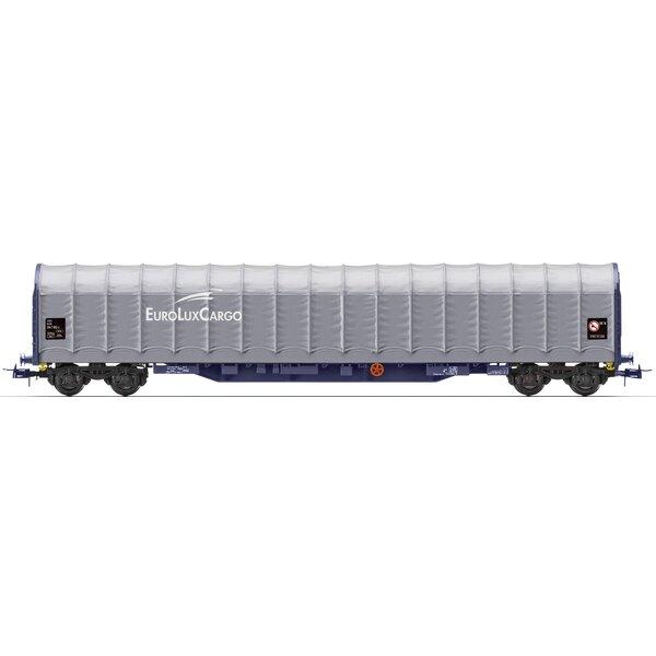 Baché wagon bogie types rilnss, EuroLuxCargo, NS