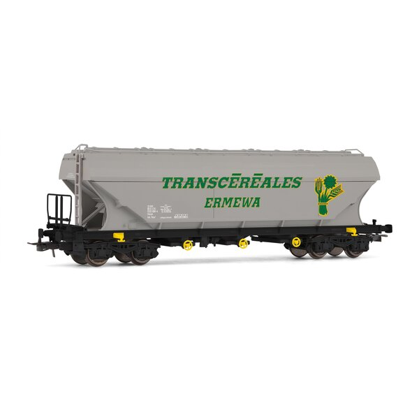 Grain wagon with flat faces