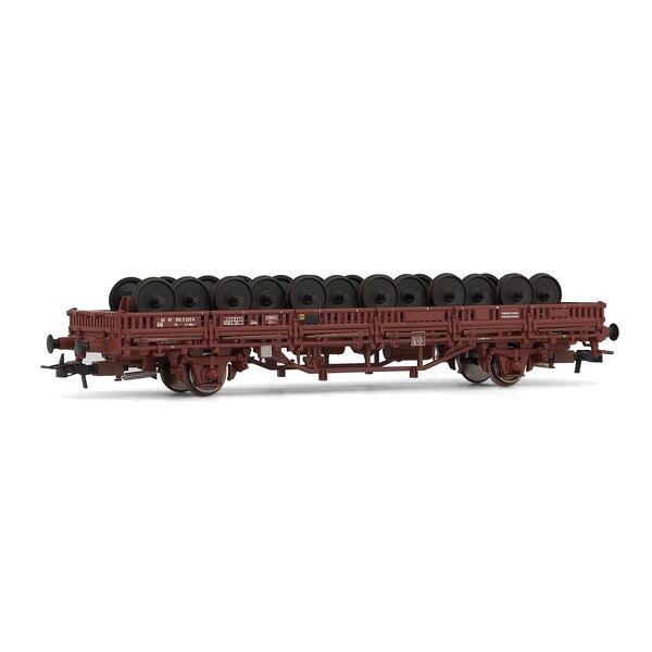 Kbs flatcar loaded axle, DR
