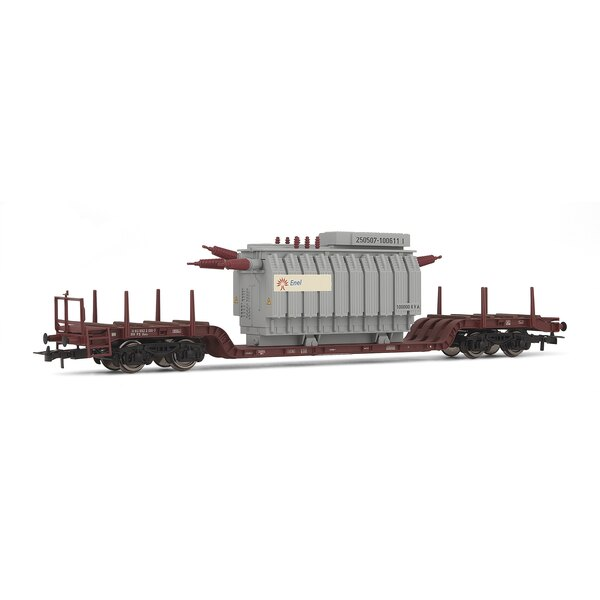 Low car, loaded with a transformer FS