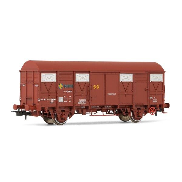 Boxcar ore-1 RENFE, state of origin