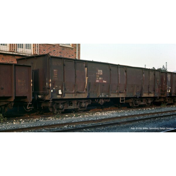 Set of 2 trucks Wagon Type eal 5906 marked OPW, DR