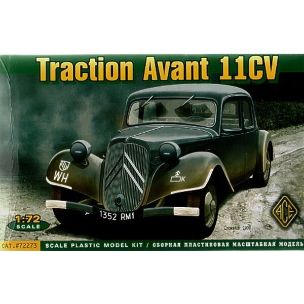 Traction Avant Citroen 11CV - Voiture de commandement