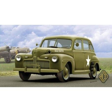 Voiture de commandement de l'US Army Ford modèle 1942