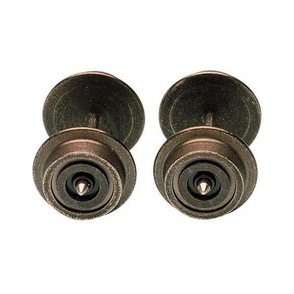 Jeu de roues Ø 6 mm, isolée (unilatéralement).