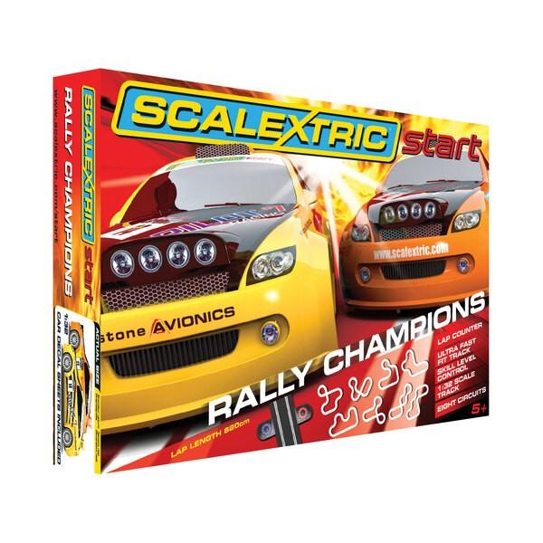 Campeones de Rally cuadro Iniciar
