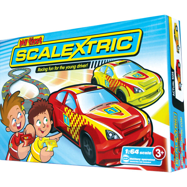 My First Scalextric (with batteries)