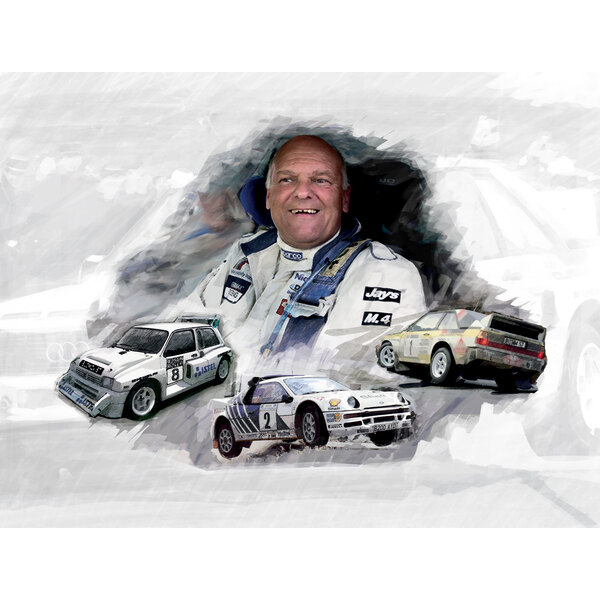 Group B Rally - The legends of the '80s (Box 3 cars)