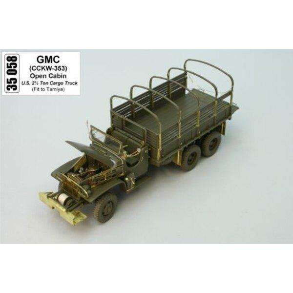 GMC à baldaquin ouvert (pour maquettes Tamiya)