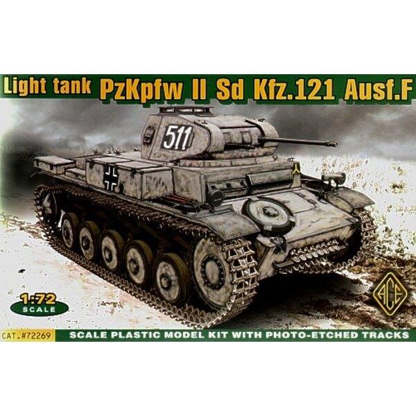 Pz. Kpfw. II Ausf. F Sd. Kfz.121