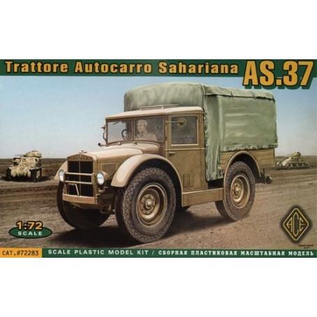 Trattore Autocarro Sahariana AS-37