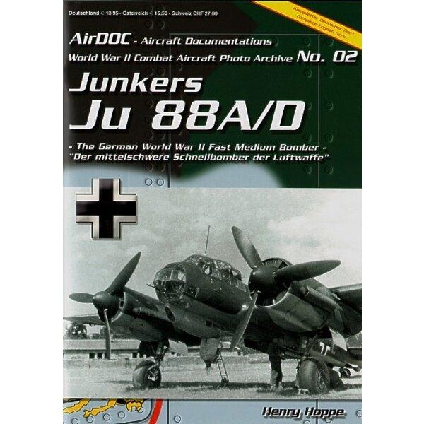 Livre Junkers Ju 88A/D