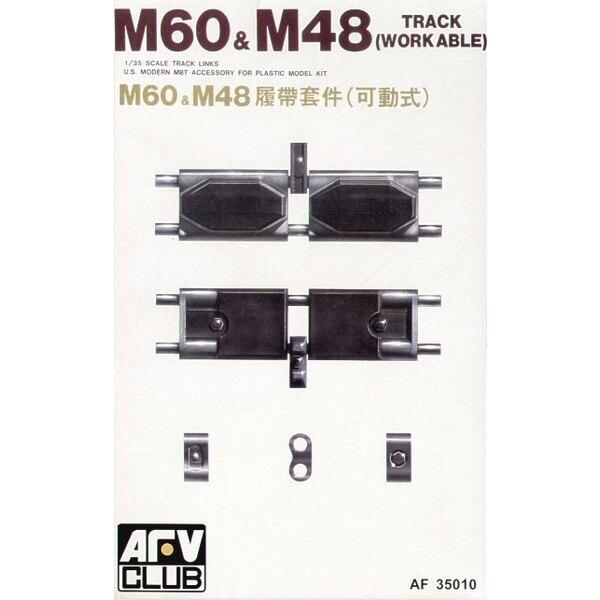 Maillons de chenille pour M48 (tardif)/M60