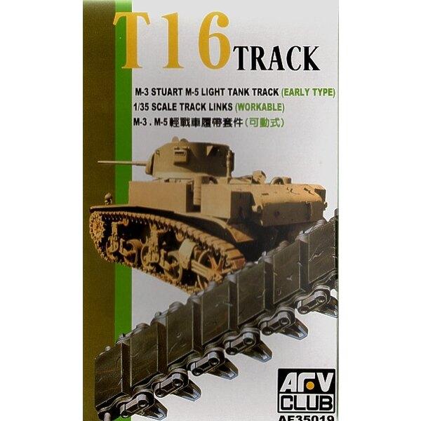 Jeu de chenilles pour M3 Stuart primitif et char léger M5