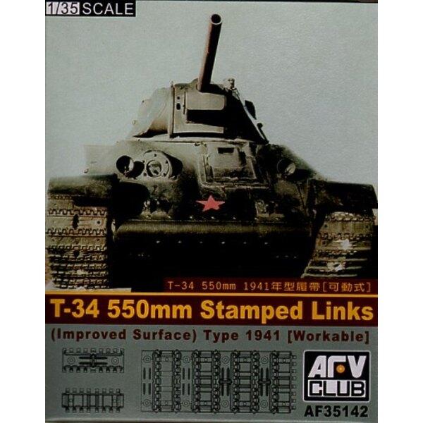 550mm de train de roulement fonctionnel pour T-34