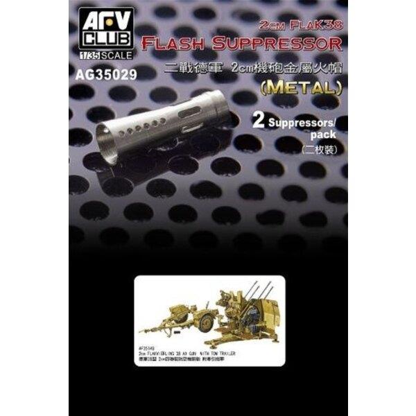 2cm FlaK 38 Flash Suppressor (2 pieces)