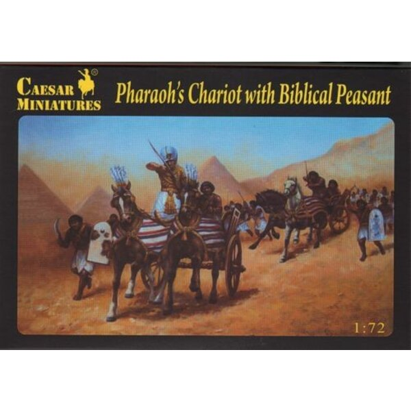Pharaoh's Chariot with Biblical Peasant