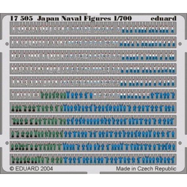 Marine japonaise : Figurines navales pré-peintes en couleur