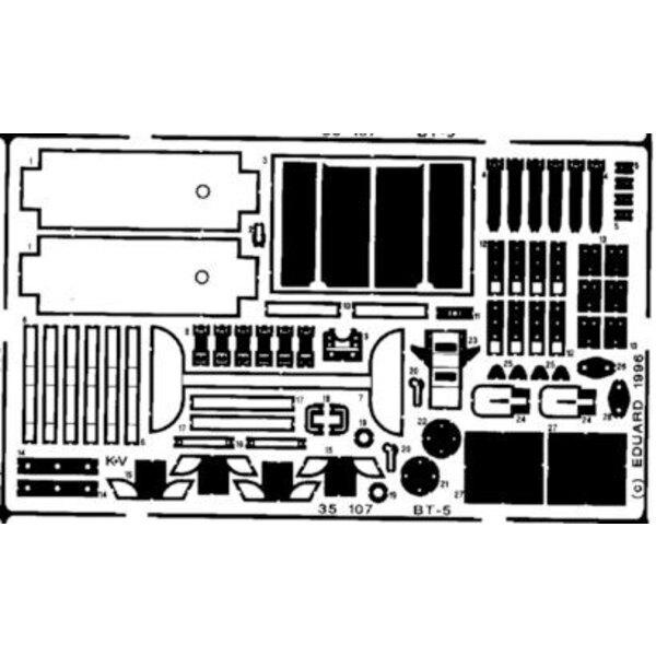 BT-5 (pour les maquettes Italeri)