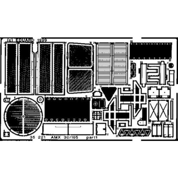 AMX-30/105 (pour maquettes Heller)