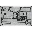 zimmerit panther g primitif - zimmerit direction horizontale (pour maquettes tamiya)