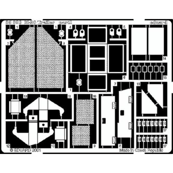 La remorque de M26 (pour maquettes Tamiya)