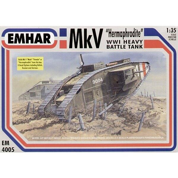 mk.v tank inc male female 1/35