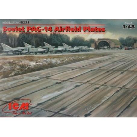 PAG-14 Soviétique : Plaques d'aérodrome