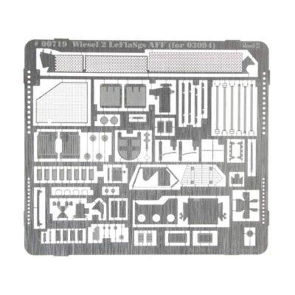 Set de détail pour Wiesel 2 LeFlaSys Launcher (conçu pour être utilisé avec les kits Revell RV3092)