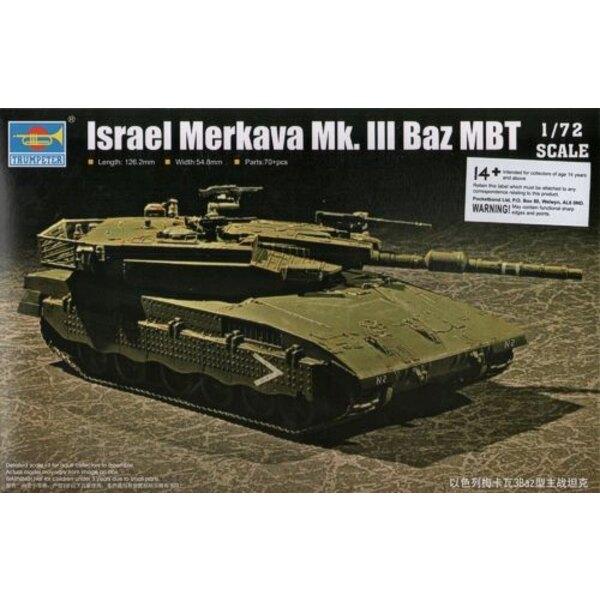 Merkava Mk.3 Baz Char de bataille israélien
