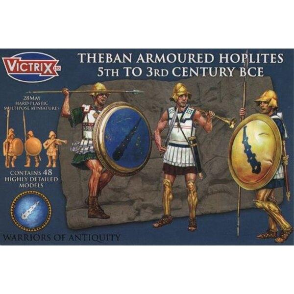 Ancient Greek Theban Hoplights 450-300BC