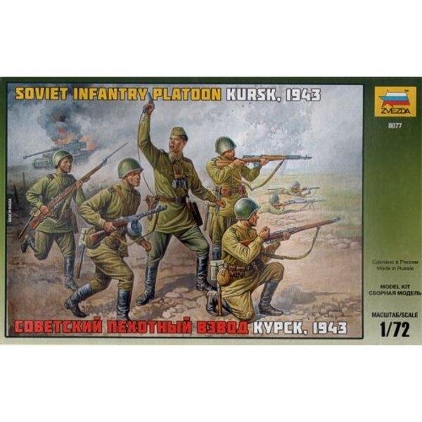 Infanterie soviétique de la 2ème GM