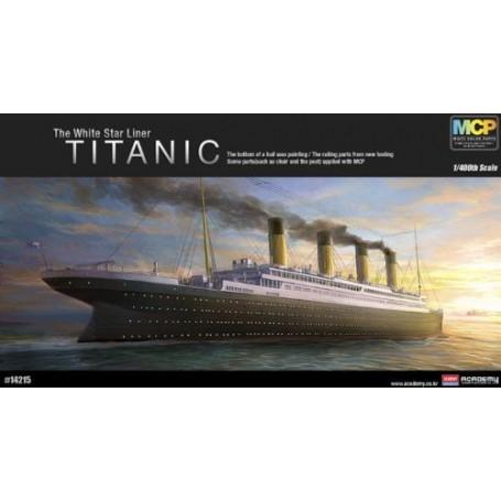 Titanic Version avec pièces multicolores