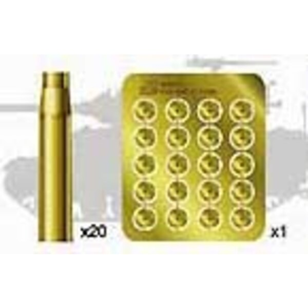 Set de Douilles de 90Mm US pour Chars M26/M36/M46/M47
