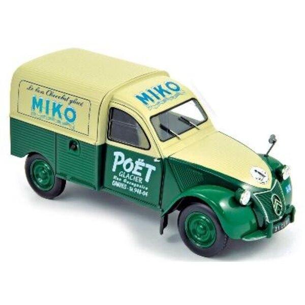 2Cv Hatchback Car 1952 Miko 1:18