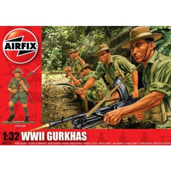 Gurkhas (WWII) 1/32 - Airfix 02719