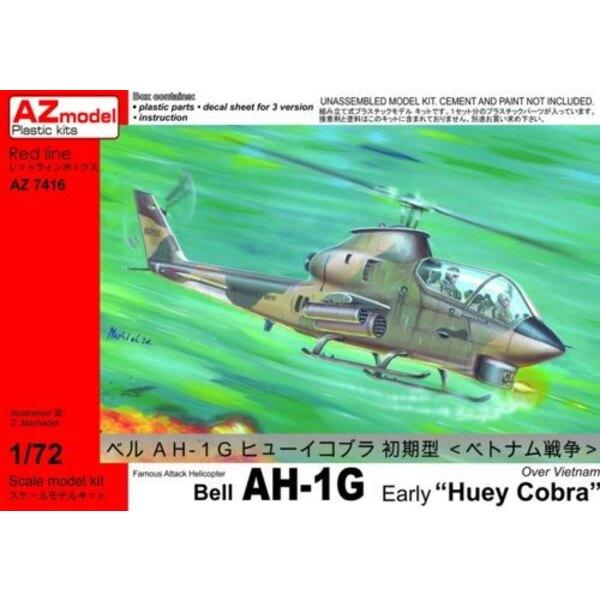 Bell AH-1G Huey Cobra Early Version 1/72 - AZ Models M74016