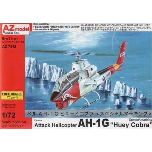 Bell AH-1G Huey Cobra Special w / PE 1/72 - AZ Models M74018