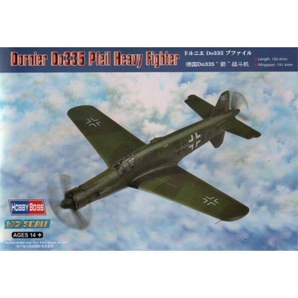 Dornier Do 335 Pfeil Heavy Fighter 1/72 - Hobby Boss 80293