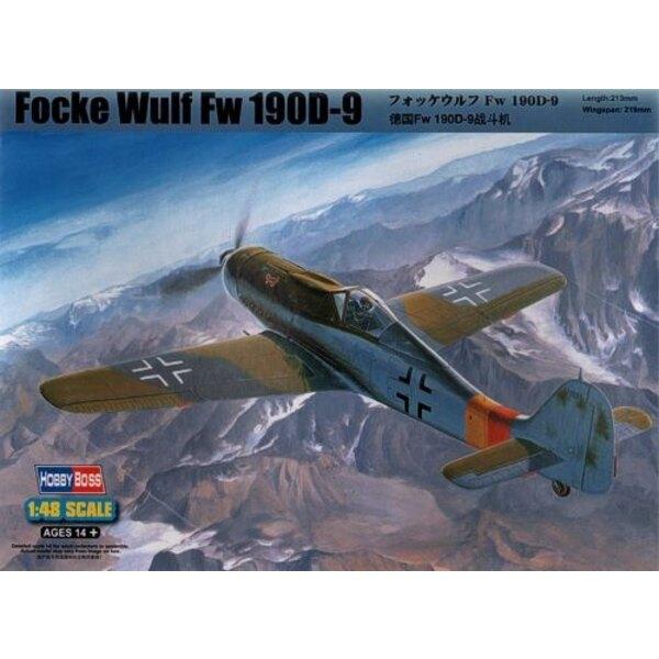 Focke-Wulf Fw 190D-9 1/48 - Hobby Boss 81716