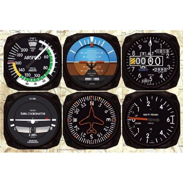 Coasters Coasters x6-Classic Instruments - Trintec 9085