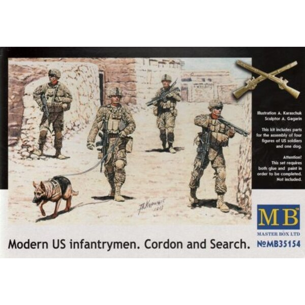 Modern US Infantrymen 'Cordon and Search'