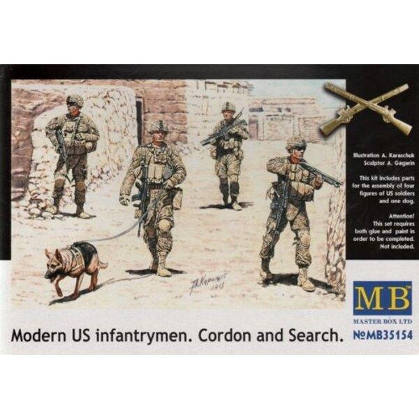 Modern US Infantrymen 'Cordon and Search'