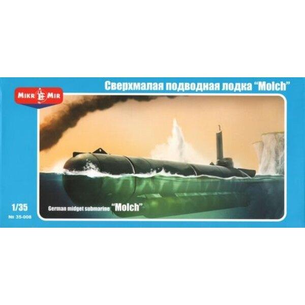 German midget submarine 'Molch'