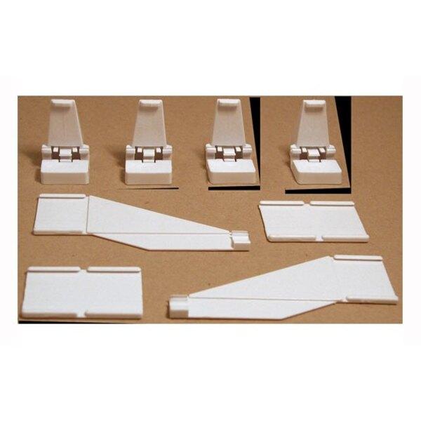 16 barreras de apoyo , la terminal 4 piezas, 2 piezas de conexión