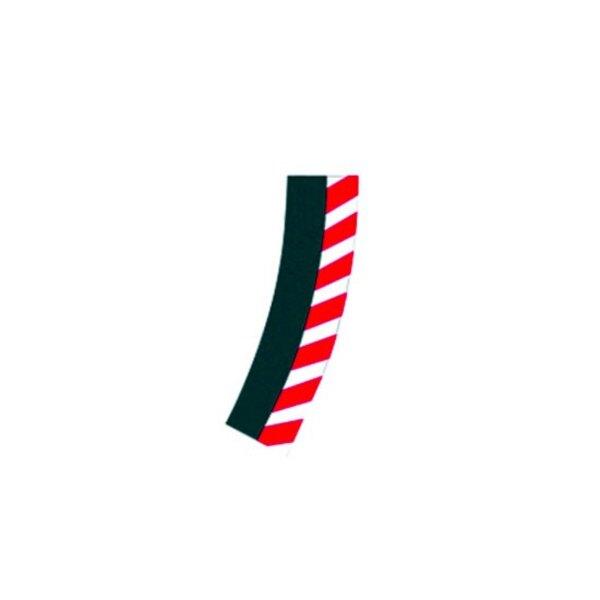 Las fronteras exteriores de peraltada 2/30 ( 6 piezas ) , puntas ( 2 piezas )